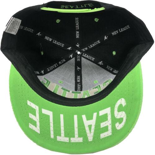 SEATTLE Embroidered Snapback Flat Brim Adjustable Baseball Cap Hats LOT OF 12pc