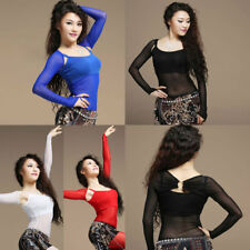 one pair Arm Sleeves Cuffs with Sequins 18CM Arm Bands Belly Dance Costumes