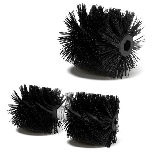 EBERTH Replacement brushes for 3 HP Petrol powered sweeper brush cleer