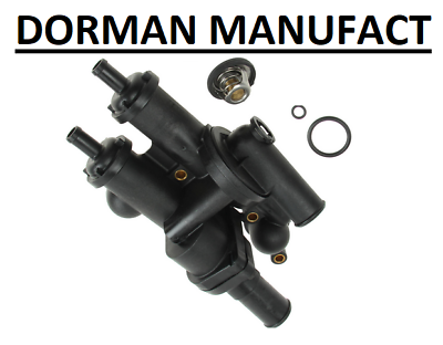 Dorman 902-319 Thermostat Housing Plastic Direct Fit Black