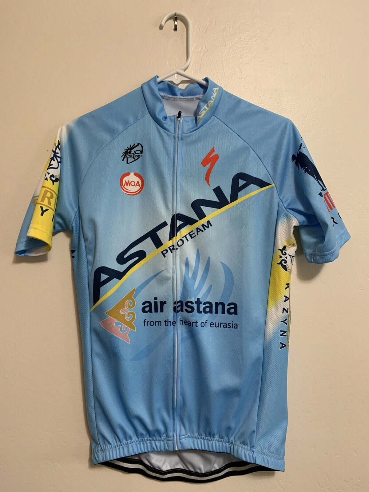 Astana - Bib Shorts and Short Sleeve Jersery Set