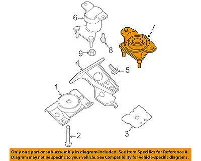 NISSAN OEM 11-15 Juke-Engine Motor Mount Torque Strut 113601KA0A