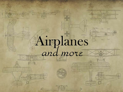 Airplanes and more