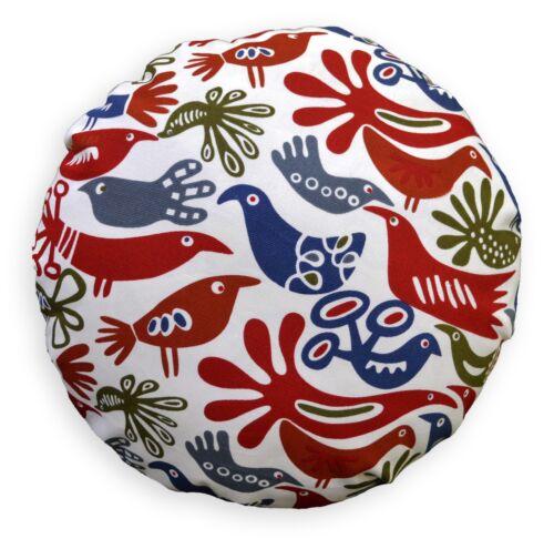Flat Round Shape Cover*A-Grade Cotton Canvas Floor Seat Chair Cushion Case*LL7