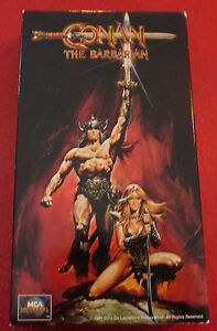 VHS-Movie-Conan-The-Barbarian-1990-Arnold-Schwarzenegger-Sandahl-Bergman