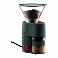 Bodum Bistro Electric Burr Coffee Grinder, Black, New, Free Shipping on sale