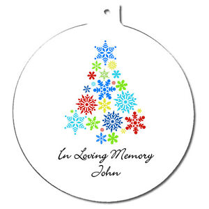 Personalised-In-Loving-Memory-Memorial-Christmas-Tree-Ornament-Round-Decoration