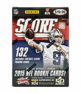 Panini-Score-2015-Football-NFL-Blaster-11-Pack-Box-1-Relic-per-Box