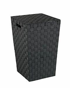 Wenko 22277100 - Cesto portabiancheria in plastica Adria Square, 33,0 x (o9u)