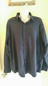 Mens-PETER-MILLAR-Blue-plaid-Button-Down-Dress-Shirt-Sz-XX-Large