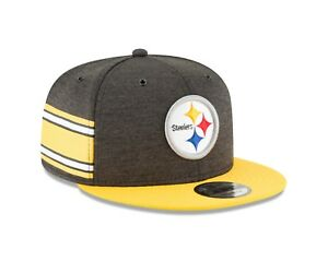 34360727f0d Image is loading Pittsburgh-Steelers-New-Era-2018-NFL-Sideline-Home-