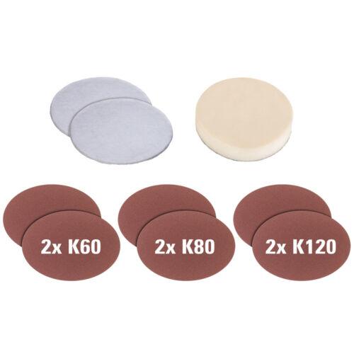 1 von 1 - EINHELL Polierhaube CC-PO 1100/1/2 E Schaumstoffaufsatz Synthetik Schleifpapier
