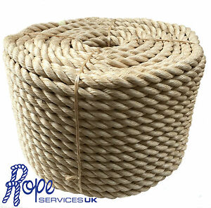 Rope-32-mm-Synthetic-Sisal-Sisal-Sisal-For-Decking-Garden-amp-Boating-x-20mts