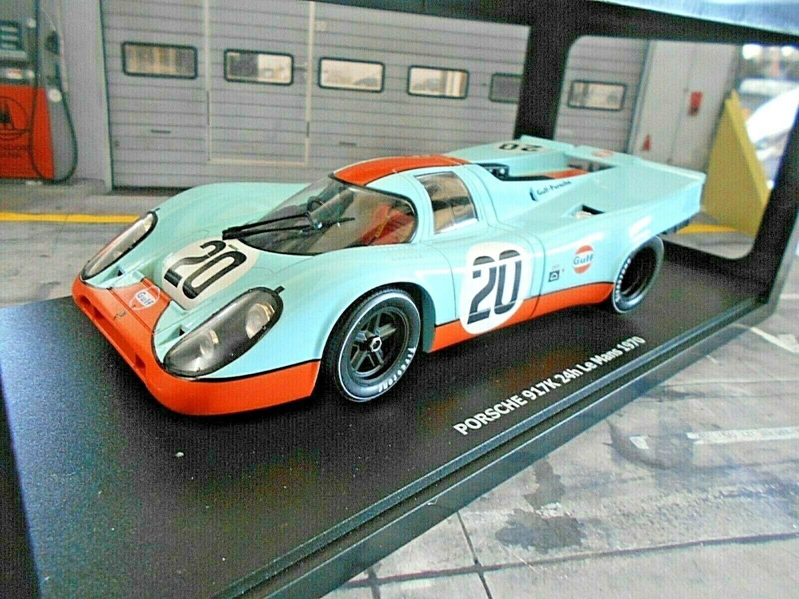Porsche 917 K 1970 24h le mans Gulf Wyer Siffert rossoman CMR 1 18