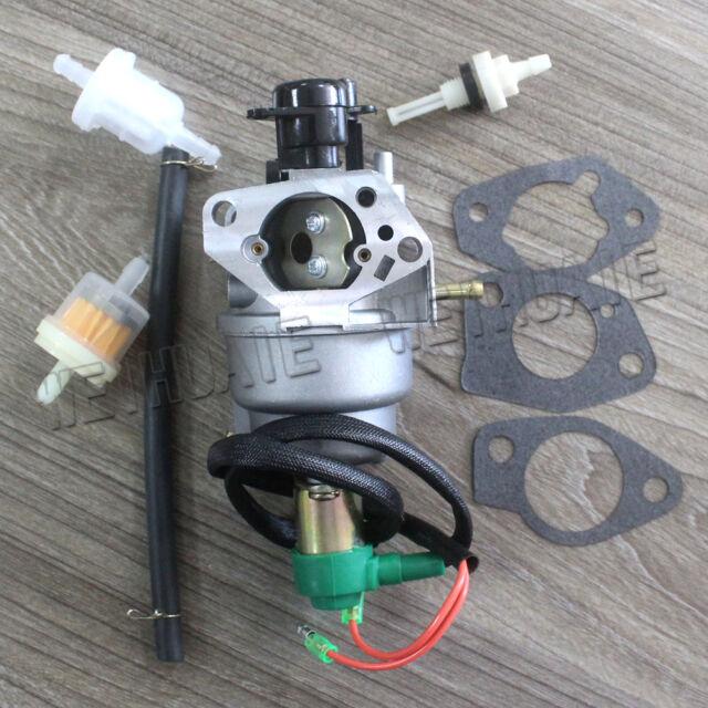 Carburetor For DuroMax DuroStar PowerMax 419CC 420CC DJ190FD 16HP Generator Carb