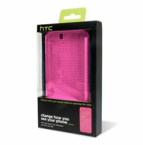Case-HTC-Genuine-for-HTC-One-M9-Premium-Dot-View-Flip-Window-Cover-PURPLE
