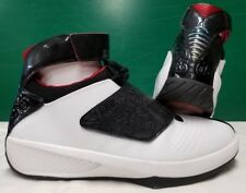 sale retailer 5dc30 fee0a Air Jordan 20 XX Men sz 13 Black White Varsity Red Quickstrike QS