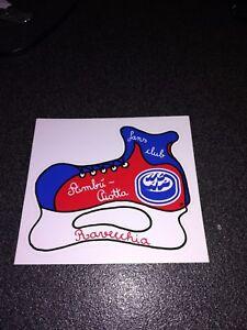 Adhesive-Vintage-Sticker-Kleber-Fans-Club-Hockey-Club-Ambri-Piotta-Ravecchia