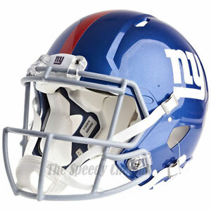 NEW YORK GIANTS RIDDELL NFL FULL SIZE AUTHENTIC SPEED FOOTBALL ... a3df78f35