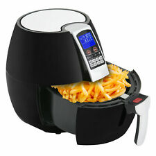 1500w Lcd Electric Air Fryer With 8 Cooking Presets Temperature Control Timer