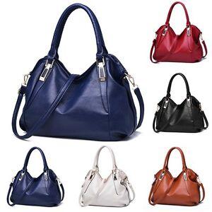 Women Trendy Handbag Shoulder Bag Tote Purse Leather Messenger Hobo ... 0c99a791d