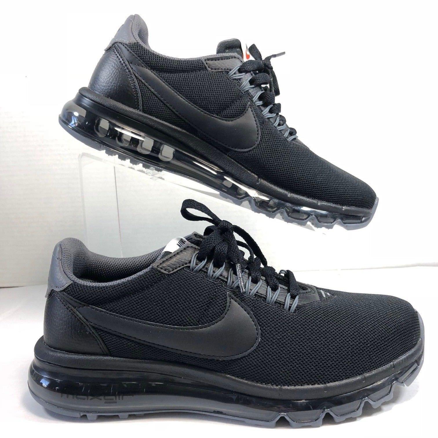 Nike Air Max Running Shoes LD Zero 2017 Women's Black 896495 002 Rare Size 5