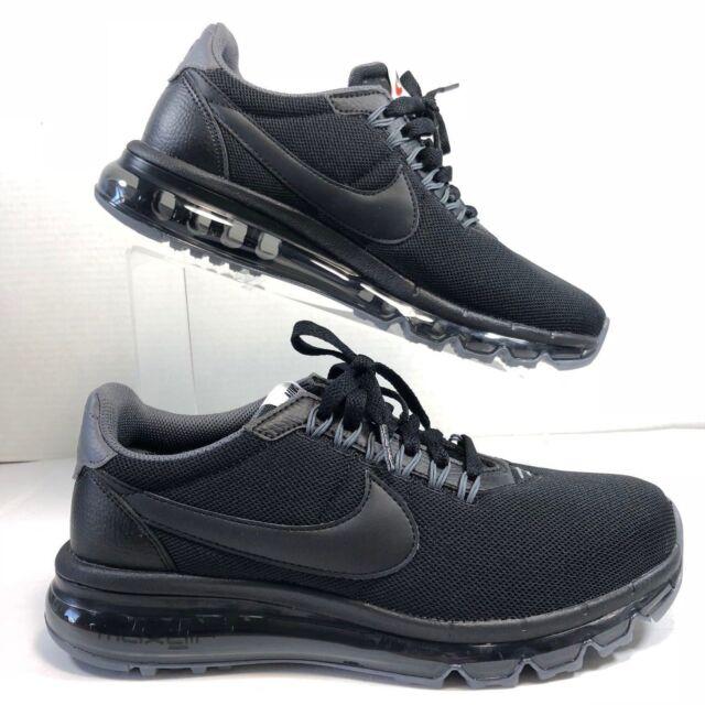 reputable site 144b9 69ed9 Nike Air Max Ld- Zero Running Casual Trainers in Triple Black UK 6 EUR 40