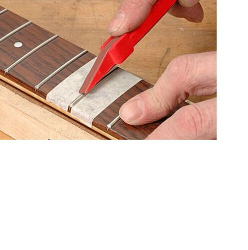 Fret Dressing Crowning Stick with 1 belt Luthier tool! Spare Replacement MI-USA!