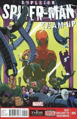 SUPERIOR SPIDER-MAN TEAM UP #7 SINISTER SIX MARVEL COMIC BOOK NEW 1
