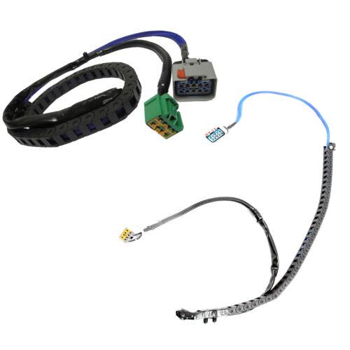Left /& Right Power Door Sliding Wire Track Harness For 04-07 Chrysler Dodge New