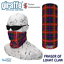 Fraser Of Lovat Clan Scottish Tartan Multifunctional Headwear snood Bandana