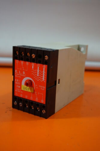 E.L.B e.l.b ER-100 2W 220V Füllstandsgerät Schaltverstärker ELB ER-100