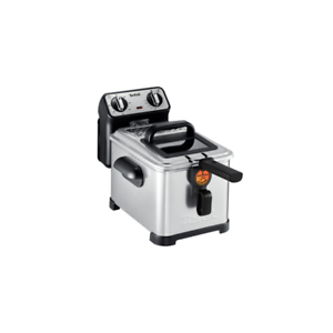 Tefal-FR-5101-Filtra-Pro-Inox-amp-Design-Fritteuse-Edelstahl-Schwarz