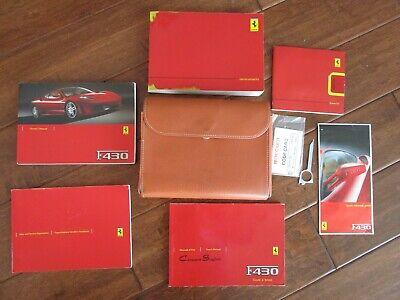 MANUAL FERRARI 430 INFOTAINMENT BOOKLET