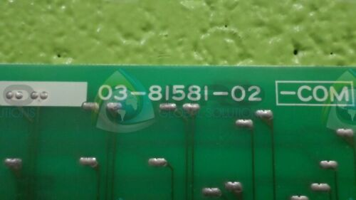 NEW NO BOX * MITSUBISHI 03-81581-02 COMMUNICATION BOARD