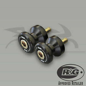 Honda-CBR1000RR-2004-2019-R-amp-G-Racing-Cotton-Reels-Paddock-Stand-Bobbins-Black