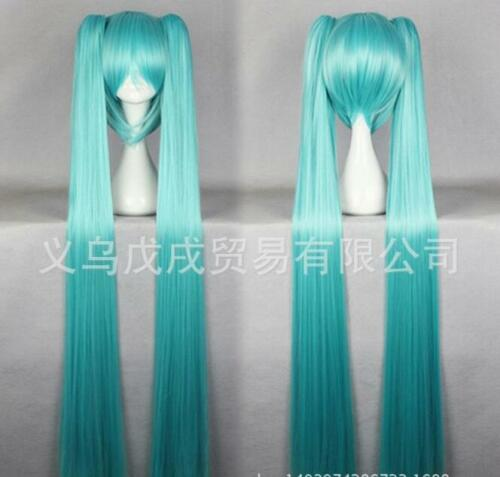 VocAloid series Hatsune Miku 072A lake blue cos wig cosplay wig L51