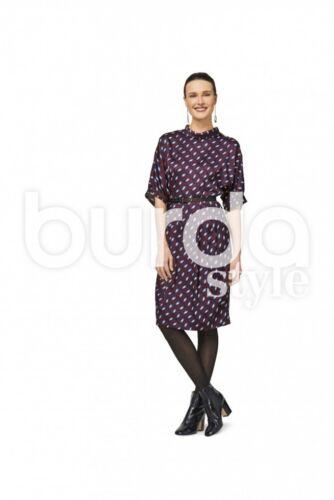 Burda Damas Vestido Manga Murciélago 6451 patrón de costura Burda - 6451