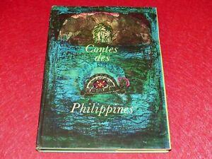 CONTES-DES-PHILIPPINES-Beau-Livre-Illustre-VIERA-BOMBOVA-Grund-1980-Jozef-GENZOR