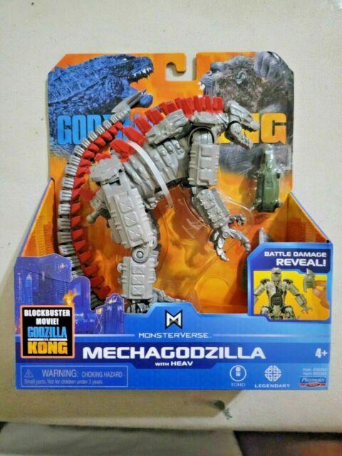 "Playmates MonsterVerse: Godzilla vs Kong - MechaGodzilla 6"" 🔥NEW - IN HAND ⚡️⚡️"