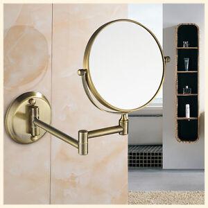 Gurun 8 Quot Shaving Makeup Mirror Wall Mount 2 Sides 10x