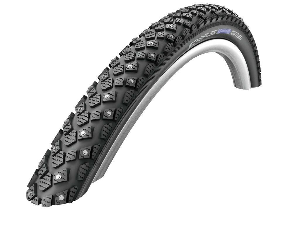 Schwalbe Bike Tyre Marathon Winter Wic all Sizes