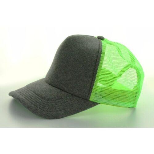 MASTER DIS JERSEY TRUCKER BASEBALL MESH CAP Stoff High Profil Neon Netz Kappe MD