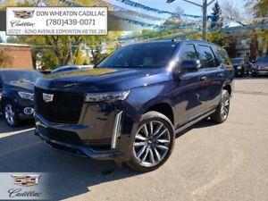 2021 Cadillac Escalade Sport Platinum 4x4 Sunroof Nav Night Vision HUD Power Boards 22s Massage Seats