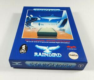 STARGLIDER-Commodore-Amiga-Spiel-Big-Box-OVP-VGC-CIB-Sammlerzustand-3-Tage