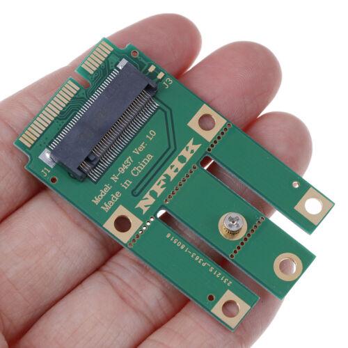A+E key A key M.2 NGFF wireless module to MINI PCIE adapter for wireless cardSKU