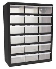 Homak HA Drawer Plastic Parts Organizer EBay - Large plastic storage cabinets