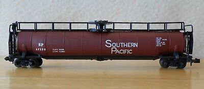 Freight Cars Shop For Cheap N Scale Jumbo Tank Sp Southern Pacific Nib Postage Stamp Trix Aurora 4870/280 In Short Supply Model Railroads & Trains