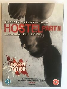 Hostel-Part-2-DVD-2007-Unseen-Edition-New-And-Sealed-Region-2-Eli-Roth