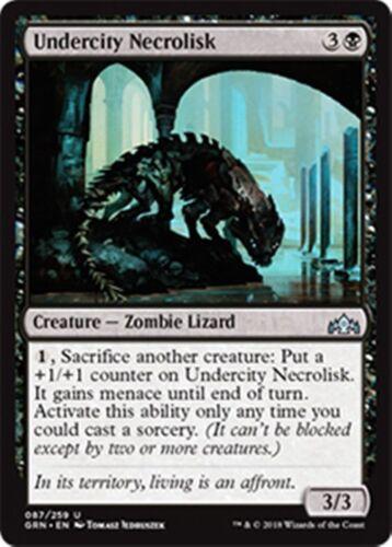 4 Undercity Necrolisk Guilds of Ravnica Playset NM//M x4 Magic FAST SHIP 4x MTG
